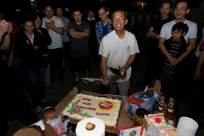Sifu Celebrates his Birthday!